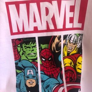 MARVEL super hero crew neck sweatshirt XL (15-17)
